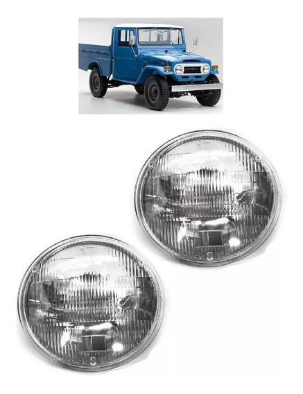 Par Farol Sealed Beam Toyota Bandeirantes 1962 A 1989 180mm