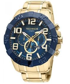 Relógio Technos Masculino Classic Legacy Azul Os20iq/4a