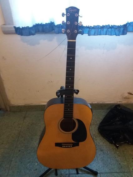 Guitarra Electroacustica Para Zurdo Squier