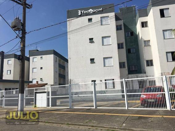 Ótimo Apartamento À Venda, Lado Praia, Bairro Plataforma Em Mongaguá.. - Ap0667