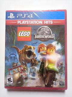 Lego Jurassic World Juego Ps4 Nuevo Y Sellado En Español