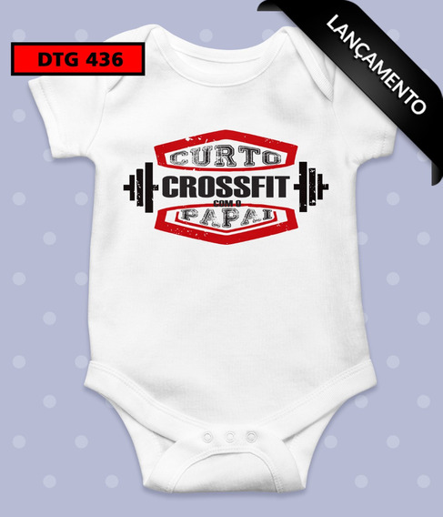 Body Infantil - Crossfit Com Papai