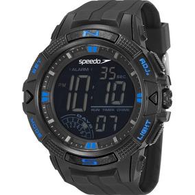 Relógio Speedo 11003g0evnp2 Digital Preto Azul