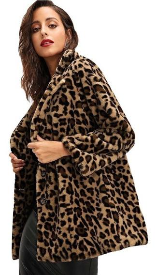 Abrigo Leopardo Sudaderas Mujer Ropa Mujer Blusas Dama