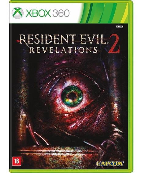 Game Xbox 360 Resident Evil Revelations 2 ( Mídia Física/ Original/ Lacrado)