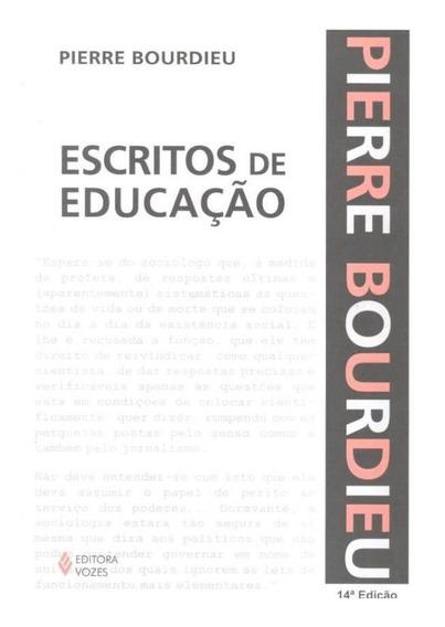 Escritos De Educacao - 14ª Edicao