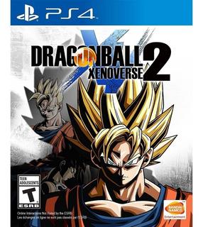 Dragon Ball Xenoverse 2 Ps4 Nuevo Sellado Fisico Cerrado