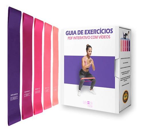 Guia De Exercícios + 5 Faixas Elásticas