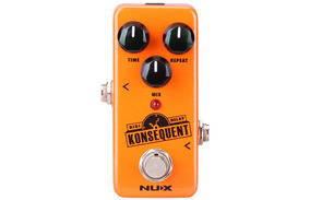 Pedal Para Guitarra Digital Delay Konsequent Ndd2 - Nux