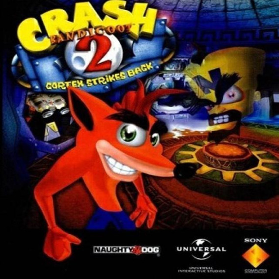 Crash Bandicoot 2 - Cortex S. Back Jogo P/ Pc + Bônus Grátis