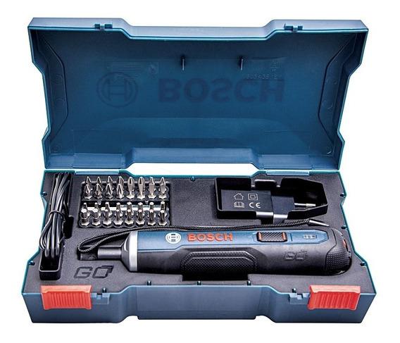 Atornillador Inalambrico Bosch Go (3,6v)+ Kit 33 Accesorios