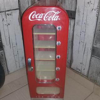 Mini Geladeira Elétrica Coca Cola Retrô Vintage
