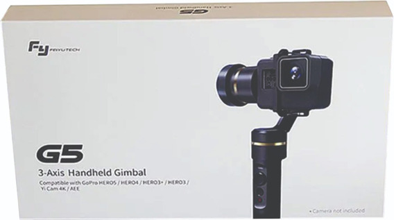 Estabilizador Gimbal G5 Feiyutech Para Gopro Hero 7 6 5 4 3