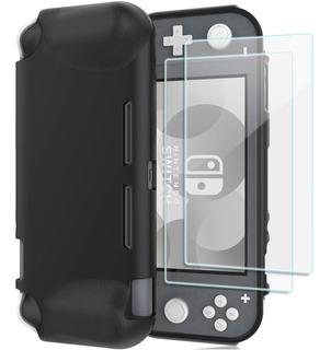 Protector Nintendo Switch Lite - Pro Case + Mica De Vidrio