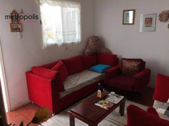 Casa Residencial À Venda, Osvaldo Cruz, São Caetano Do Sul - Ca0087. - Ca0087