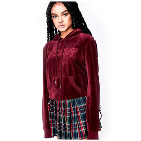 Casaco Veludo Fenty Puma By Rihanna Velour Fitted Pullover