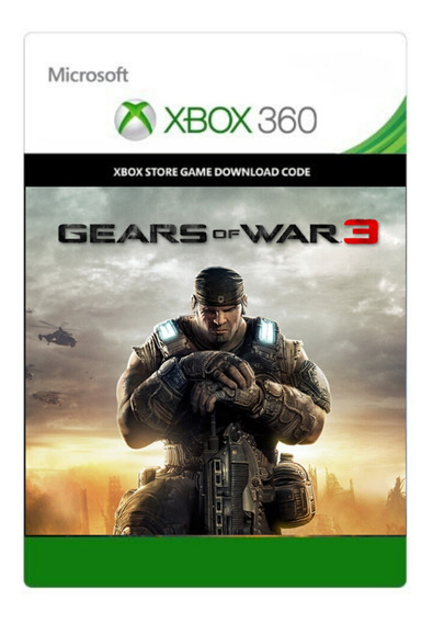 Gears Of War 3 (25 Dígitos) Xbox 360