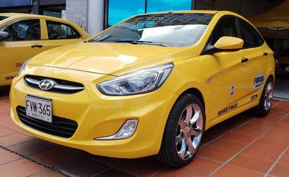 Taxi Hyundai I25 Modelo 2019 1.600 Cc
