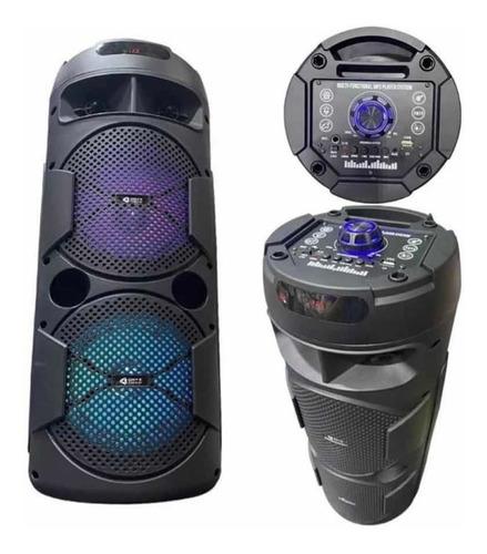Parlante Portatil Kanji Paradis Bluetooth 500w Con Microfono