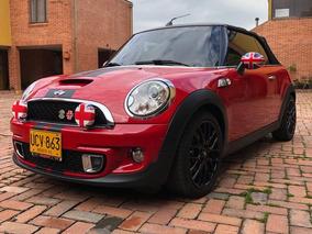 Mini Cooper Cabrio S Motor 1.600 2014 Rojo Chili