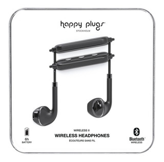 Auriculares Bluetooth Happy Plugs Wireless Ii Nego