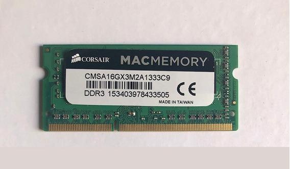 Memoria Ram 16gb Corsair Mac Memory Ddr3