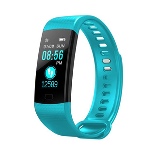 Kit-2 Pulseira Fitness Inteligente Relógio Smartband Y5 Plus