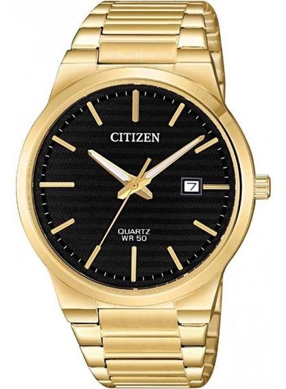 Relógio Citizen Masculino Dourado Original Garantia Barato