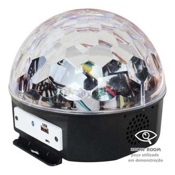 Bola Maluca Bluetooth Led Rgb Usb Mp3 18w Show Room