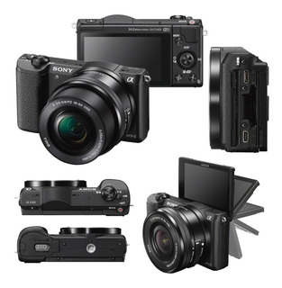 33.900- Sony Ilce Alpha A5100 E Aps-c 24,3 Mp + Selp16-50