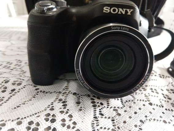 Câmera Digital Sony Dsc-h100 Preta 16.1mp, Lcd 3.0