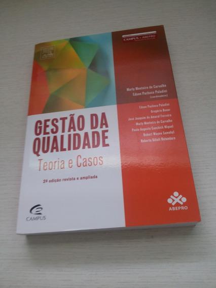 Gestão Da Qualidade 2 Ed Marly Carvalho