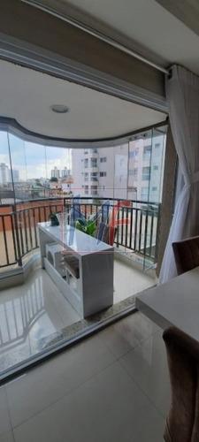 Imagem 1 de 30 de Ref: 13.422 Belo Apartamento No Bairro Vila Valparaíso, Com 3 Dorms (2 Suítes), 2 Vagas, Rico Em Móveis Planejados, Varanda Gourmet, 118 M² - 13422