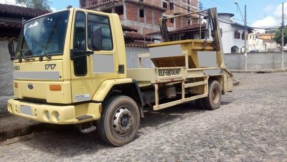 Ford Cargo 1717 Toco 4x2 Ano 2003 + 16 Caçambinhas.
