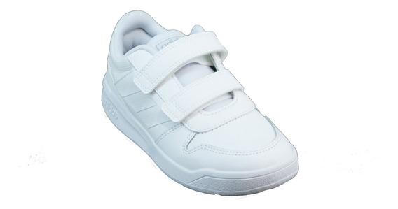 Zapatilla adidas Tensaurus Abrojo Blanco Niño Deprofan