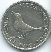 Moneda De Croacia 1 Kuna 2006 Excelente Xf
