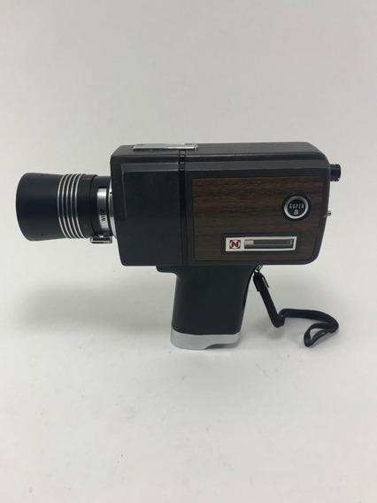 Filmadora Antiga Super 8 Naigai Synchro Zoom Ttl - Com Caixa