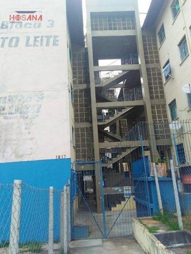 Imagem 1 de 26 de Apartamento Com 2 Dormitórios À Venda, 54 M² Por R$ 110.000 - Nova Era - Caieiras/sp - Ap0181