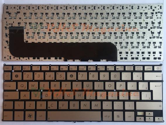 Teclado Para Notebook Asus X21prata Com Ç Sku206