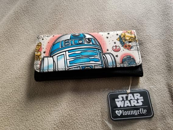 Billetera Disney Star Wars R2-d2 Importada Marca Loungefly