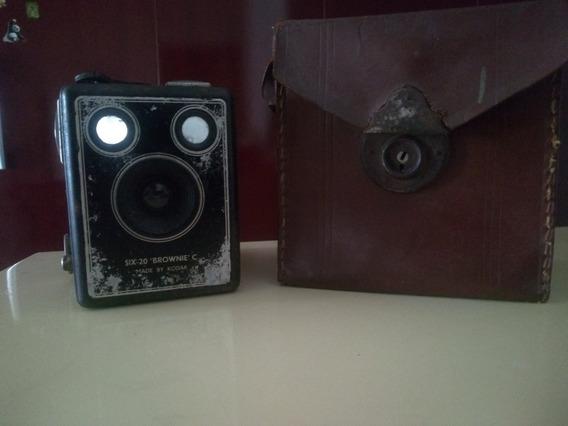 Câmera Six-20 Brownie C 1946-53 //raro//