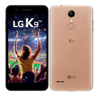 Smartphone Lg K9 Tv, Dual Chip, Dourado, Tela 5 , 4g+wifi