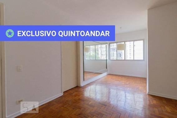 Apartamento No 3º Andar Com 2 Dormitórios E 1 Garagem - Id: 892950941 - 250941