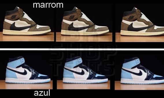 Tenis Nike Air Jordan 1 Com Caixa Leia A Descriçao