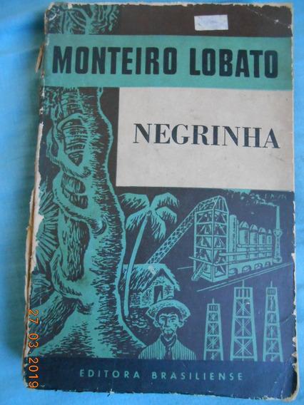 Livro A Negrinha ( Monteiro Lobato )