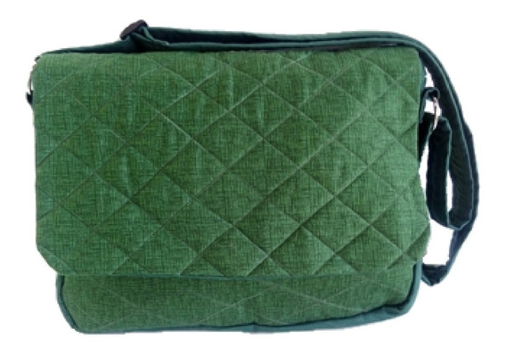 Bolsa Carteiro Verde