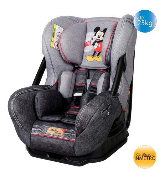 Cadeirinha Cadeira De Carro Eris Mickey Mouse Reclinável