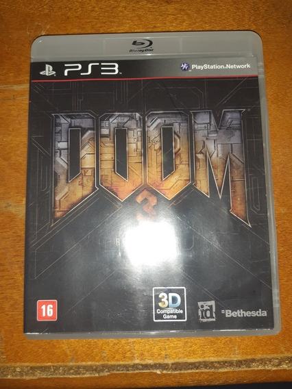 Doom 3 Bfg Edition Ps3 Original Com Manual