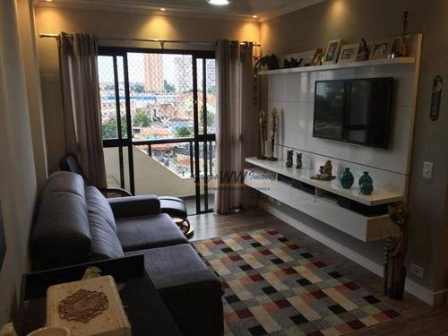 Imagem 1 de 14 de Apartamento À Venda, 95 M² Por R$ 645.000,00 - Lauzane Paulista - São Paulo/sp - Ap3162