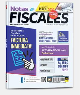 Revista Notas Fiscales 290 Enero 2020 Formato Impreso
